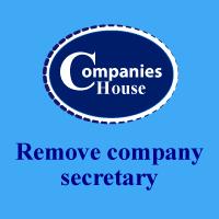 remove company secretary
